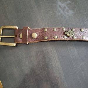 Harley Davidson womans belt  size 38